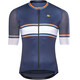 Alé Cycling R-EV1 Speedfondo Short Sleeve Jersey Men navy blue-fluo orange-light blue